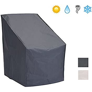 Patio Watcher Patio Chair Cover All Weather Protective Patio Furniture Cover  High Back Outdoor Chair Cover Part 34