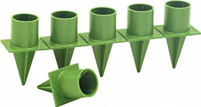"""Taper Candle Holder Standard 1"""" Green 36 Pieces Per Package Candleholder"""