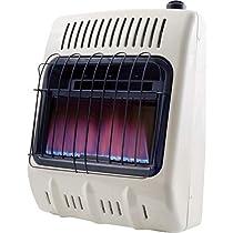 Propane Vent-Free Blue Flame Wall Heater - 10,000 BTU #MHVFB10LP