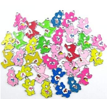Cell's world - New 20 Pcs Care Bear Metal Charm Pendants DIY Jewelry Making A84