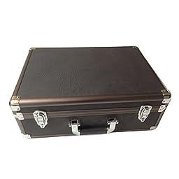 SRA Cases Aluminum Camera Travel Case, 18.1 x 13.5 x 6.5 Inches