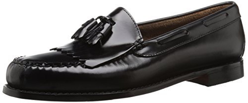 G.H. Bass & Co. Men's Layton Kiltie Tassel Loafer,Black,10.5 D US