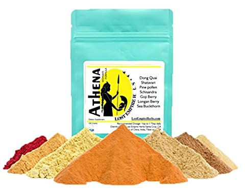 Lost Empire Herbs Athena Woman's Formula (100g) Foundational Formula for Women of All Ages - Female Tonic Herb