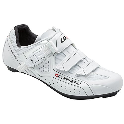 Louis Garneau Copal Men's Cycling Shoe: White 46