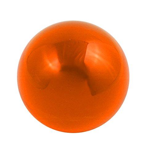 Orange Sphere (uxcell 30mm Diameter Solid Round Acrylic Sphere Plexiglass Ball Orange)