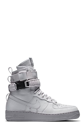 Nike Womens SF Air Force 1 Boots Vast Grey/Atmosphere Grey 857872-003 Size 10 (Womens Boots Nike Top Hi)