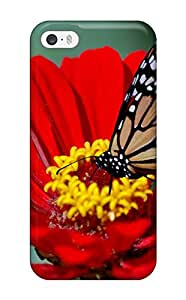 Para iphone caso, mariposa Hd de alta calidad para iphone 5/5S carcasa