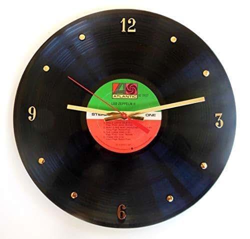 Amazon Com Led Zeppelin Vinyl Record Clock Atlantic
