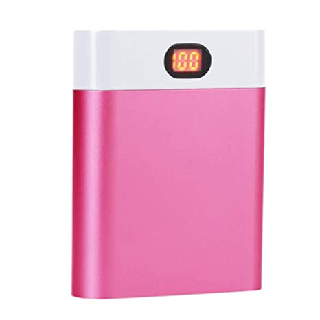 Digital Display Power Bank DIY Case 4×18650 Battery Charge Case Anti-reverse