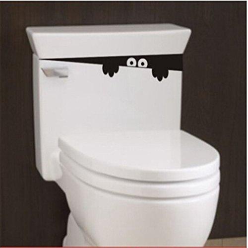 ShungHO 2PCS Black Stickers Toilet product image