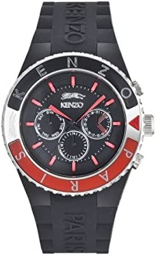 Kenzo Watch Homme NoirRouge: : Montres