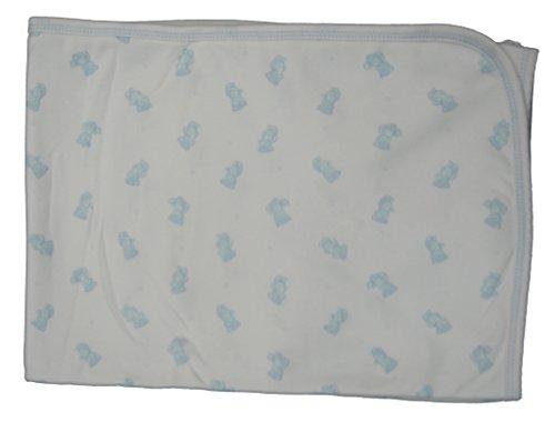kissy-kissy-baby-boys-infant-tiny-teddy-print-receiving-blanket-white-with-blue-one-size