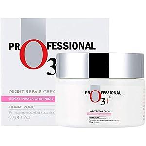 O3+ Night Repair Face Cream Brightening & Whitening Anti-Ageing for Restoring Elasticity, Firmness, Moisture & Reducing…