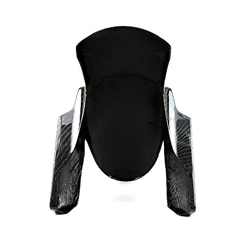 CUHAWUDBA Motorcycle Carbon Fiber Guard Mudguard Tire Cover For Kawasaki Z800 Z1000 2014 2015 2016 2017