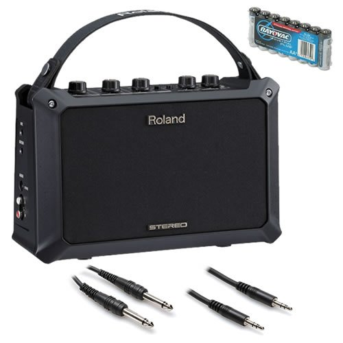 Roland MOBILE-AC | Battery Power Acoustic Guitar Amplifier by Roland