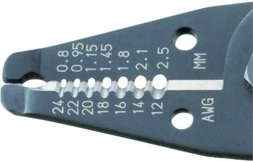 Pro Pince /à d/énuder de pr/écision M/âchoires en acier au carbone de qualit/é japonais Engineer Pa-07