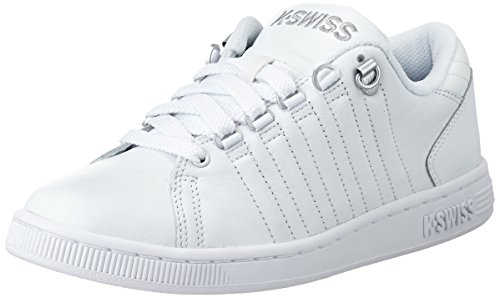 de White 133 Blanco White Silver LOZAN deportiva mujer K III zapatilla piel Swiss ZpwAX4q4z