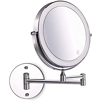 Amazon Com 8 Inch Wall Mounted Makeup Mirror Adjustable