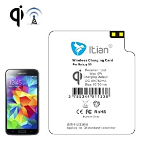 Red Shop | receptor de carga inalámbrico 5V 600mAh para Qi para Samsung Galaxy S5G900de terze partes