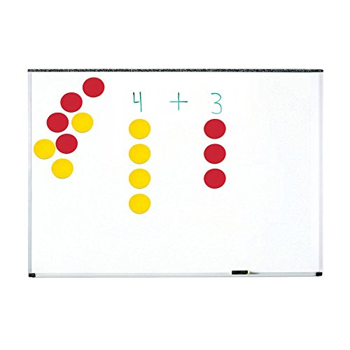 hand2mind 86992 Magnetic Demonstration Two-Color Counters, Grade: Kindergarten to 5