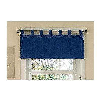 "Denim Tab Top Valance - Blue (57x18"")"