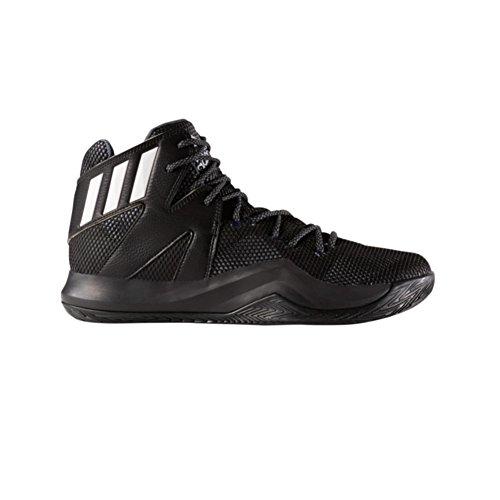 Adidas Performance Mens Galna Studsa Basket Sko Svart-vit-onix