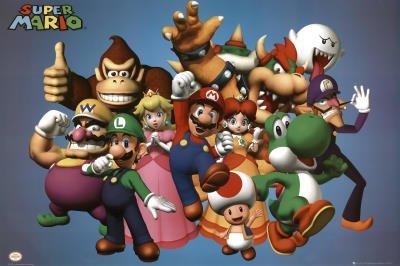 GB Eye Nintendo Cast Poster