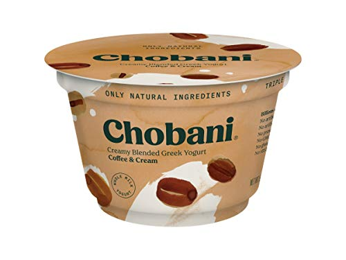 Chobani 2 Percent Coffee Blended Greek Yogurt, 5.3 Ounce -- 12 per - Greek Yogurt Chobani