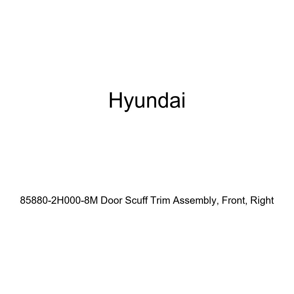 Genuine Hyundai 85880-2H000-8M Door Scuff Trim Assembly Front Right