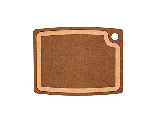 (Epicurean 003-15110301 Gourmet Series Cutting Board, 14.5-Inch by 11.25-Inch, Nutmeg/Natural)
