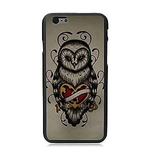 WQQ caso duro búho diseño único para pc iphone i5