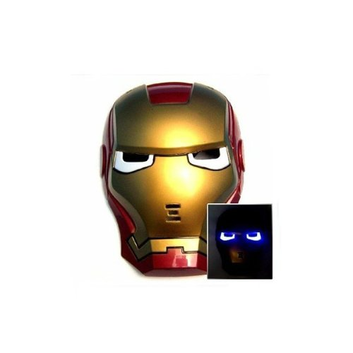 Iron Man Mask Light Up Eyes - 2