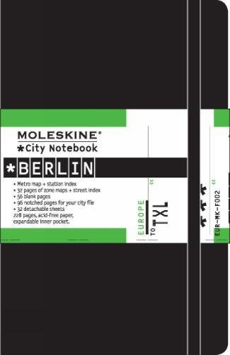 Moleskine Journey City Notebook, Berlin, Hard Cover, Pocket (3.5