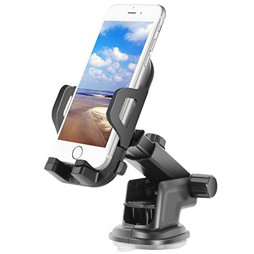 Price comparison product image Car Mount Holder,FayTun Universal Phone Holder for iPhone 7S 6S Plus 6S 5S 5C,Samsung Galaxy S8 Edge S7 S6 Note 5,Google Pixel Pixel XL &Other Smartphone
