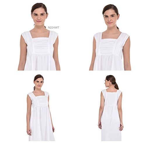 Camicia WT Plus Vintage Reproduction cotone in Lane da Size notte bianco N224 Cotton 15wgz