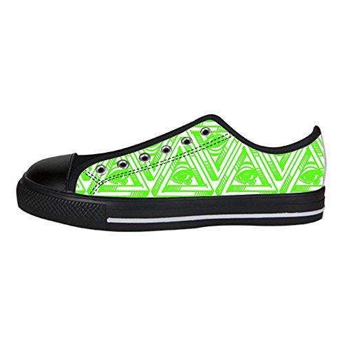Dalliy eye pattern Mens Canvas shoes Schuhe Lace-up High-top Sneakers Segeltuchschuhe Leinwand-Schuh-Turnschuhe A