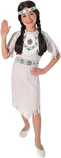 Disfraz de Princesa India Apache para niña, Talla S infantil 3-4 ...