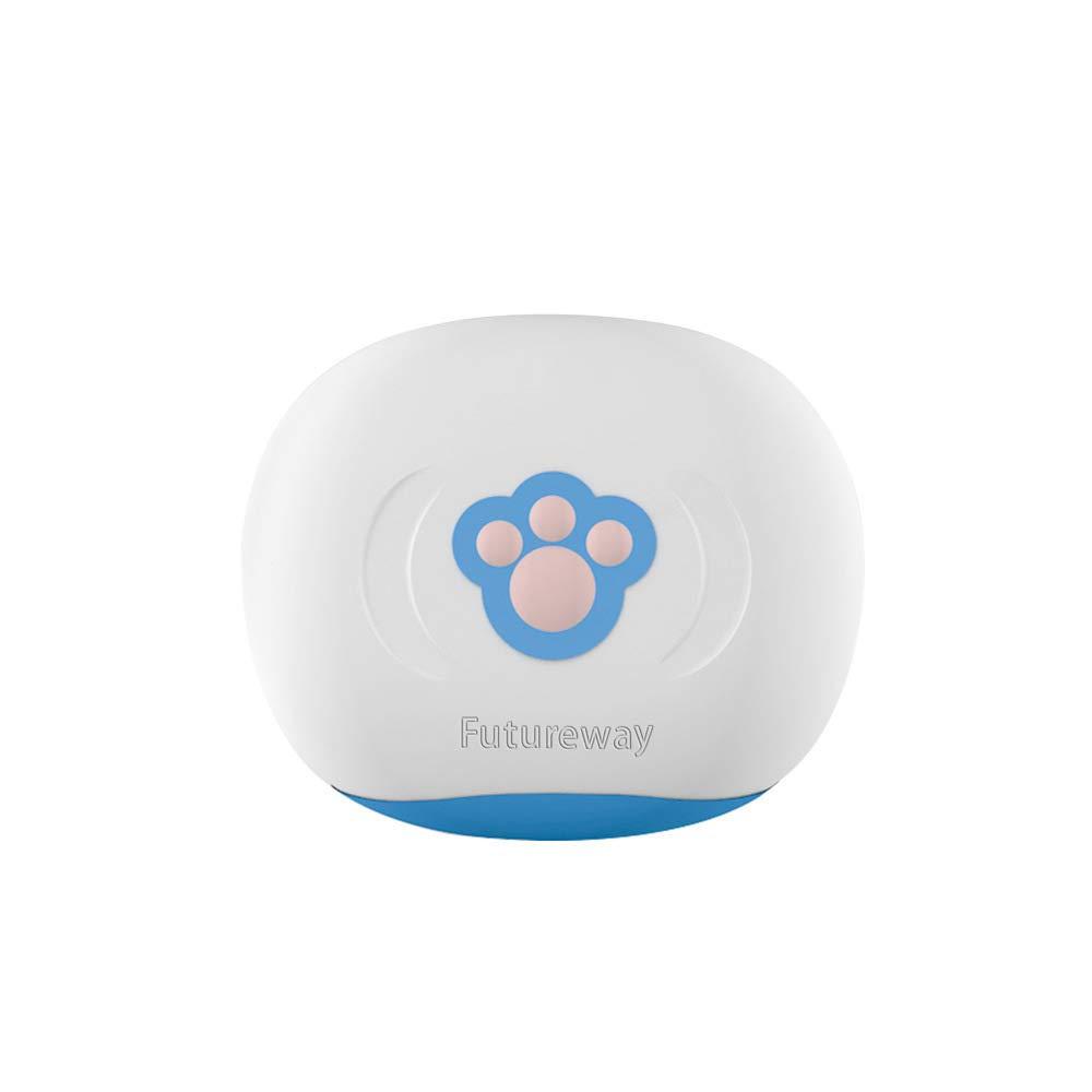 ZDY Mascota Collar Localizador GPS para Perros Y Gatos, Localizador Anti-Perdida Anti-Robo De Dispositivos De Alarma,Rastreador Resistente Smart Al Agua ...