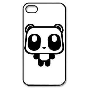 Cartoon Panda Bear iPhone 4S 4 case Customized Back Protective Cover Case for Apple iPhone 4S and iPhone 4
