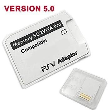 Andifany Versión 5.0 Sd2Vita para PS Vita Tarjeta De Memoria ...