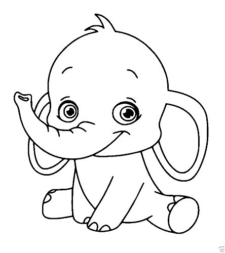 Baby Elephant Rubber Stamps custom stamps rubber