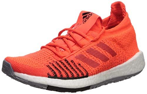 adidas Originals Men's PulseBOOST HD Running Shoe, Solar red/hi-res red/Black, 10.5 M US
