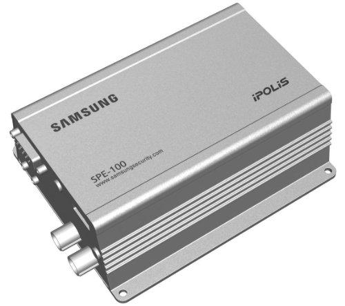 (SS5 - SAMSUNG SPE-100P iPOLiS H.264 MPEG-4 & MJPEG 1 CHANNEL NETWORK ENCODER CCTV)