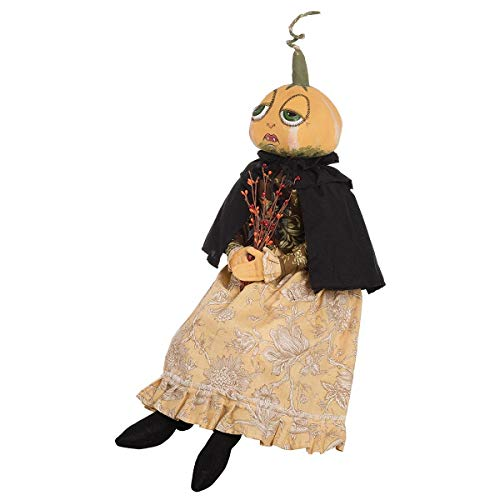 Gathered Traditions Effie Pumpkin Head 26