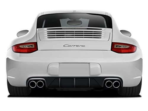 (Aero Function Replacement for 2009-2011 Porsche 911 Carrera 997 C2 C2S C4 C4S Targa 4 Targa 4S Cabriolet AF-2 Rear Diffuser (GFK) - 1 Piece)