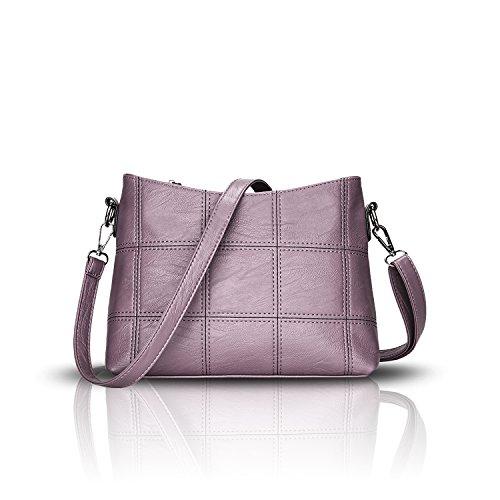 las se de de suave de Bolsos hombro la oras moda empalma P¨²rpura nuevo mensajero bolso que Bolsa manera bolso de Tisdaini qfEtnWUPf