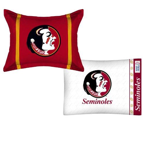 Mvp Pillow Sham (NCAA Florida State Seminoles MVP Pillow Sham Pillowcase Set)