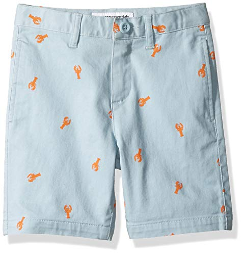 Amazon Essentials Toddler Boys' Woven Shorts, Lobster Light Blue, 2T