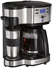 Hamilton Beach 49980Z 2-Way Brewer, 12-Cup Features