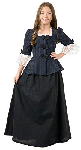 Child Martha Washington Dress Colonial Girl Dress 1700s School Project